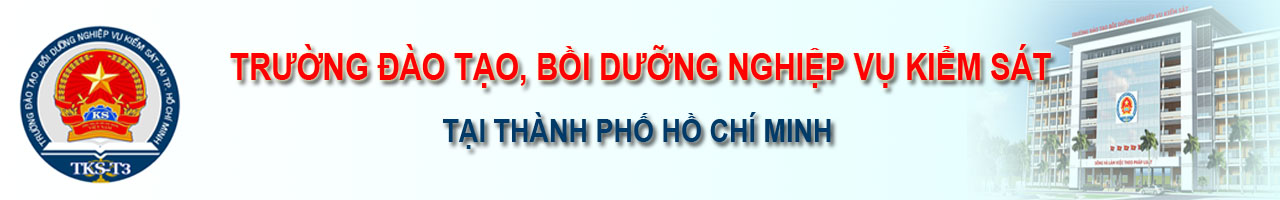 Trường Đào tạo, bồi dưỡng nghiệp vụ kiểm sát tại thành phố Hồ Chí Minh Logo